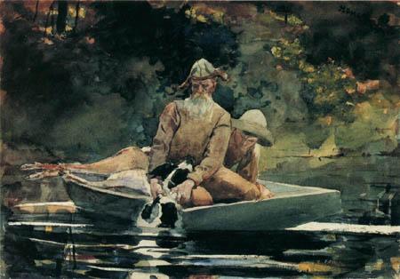 Winslow Homer - Nach der Jagd