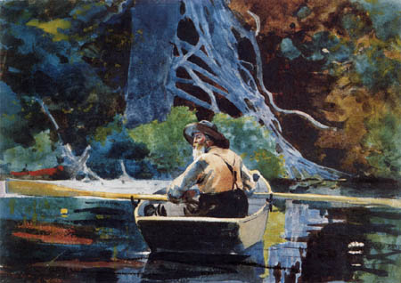 Winslow Homer - Le guide d'Adirondack
