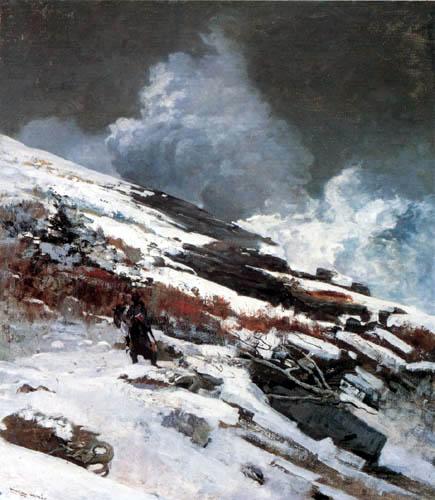 Winslow Homer - Costa de invierno