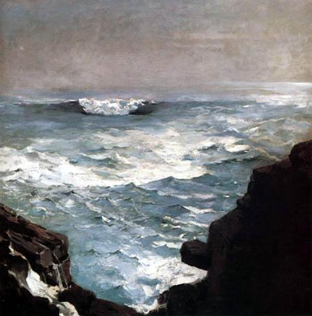 Winslow Homer - Cannon Rock