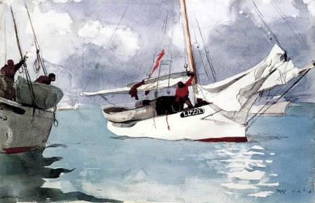 Winslow Homer - Bateaux de pêcheur, Key West