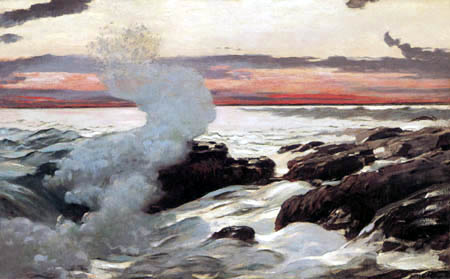 Winslow Homer - West Point, Prout´s Neck