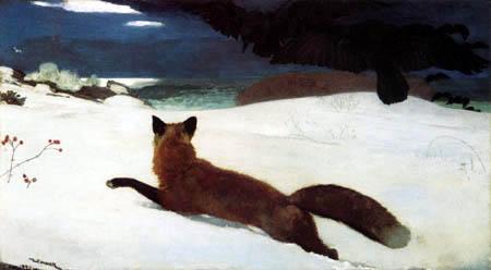 Winslow Homer - Fuchsjagd