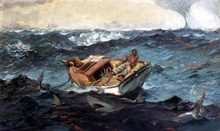 Winslow Homer - Der Golfstrom
