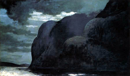 Winslow Homer - Cap Trinity, Saguenay River