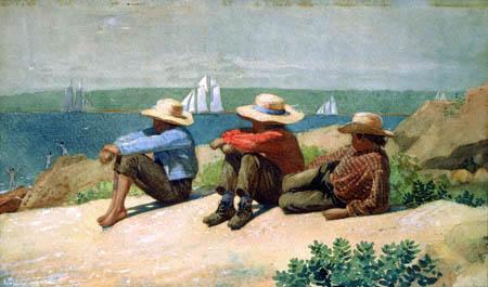 Winslow Homer - Knaben am Meeresstrand