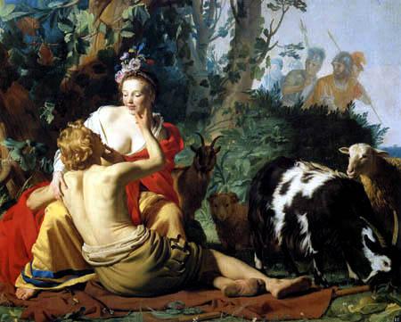 Gerard van Honthorst - Daphilo and Granida