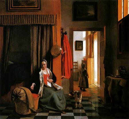 Pieter de Hooch - Die Mutter