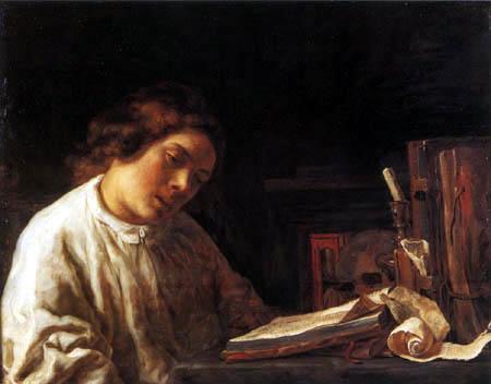 Samuel Dircksz. van Hoogstraten - Autoportrait