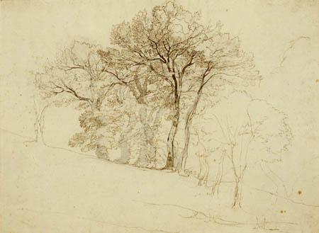 Franz Theobald Horny - Baumgruppe