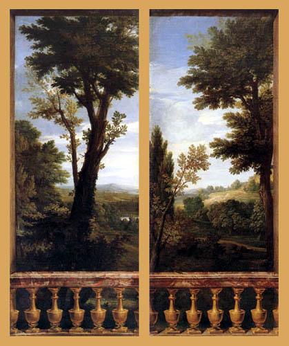 René-Antoine Houasse - Landscape