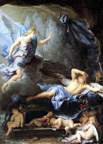 René-Antoine Houasse - Morpheus Awaking as Iris Draws Near