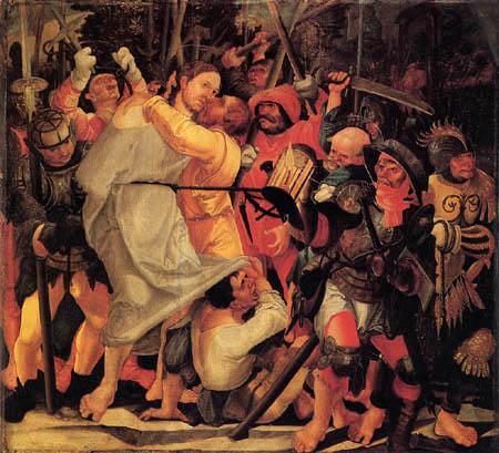 Wolf Huber - Capture of Christ