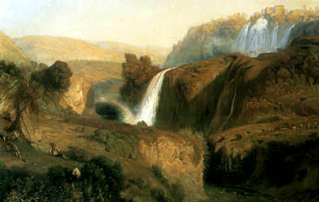 Paul Huet - Waterfalls of Tivoli