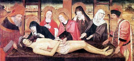 Jaime (Jaume) Huguet - Piety