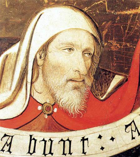 Jaime (Jaume) Huguet - Head of a Prophet