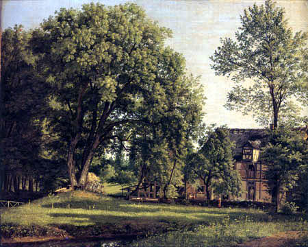 Johann Erdmann Hummel - In the Park of Buch Castle