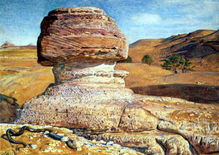William Holman Hunt - Le Sphinx