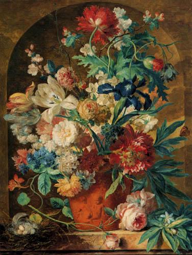 Jan van Huysum - Fleurs