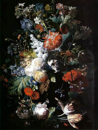 Jan van Huysum - Flower still life
