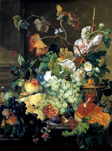 Jan van Huysum - Nature morte