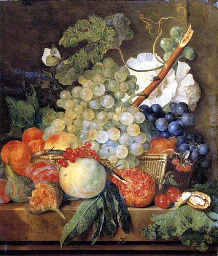 Jan van Huysum - Fruit still life