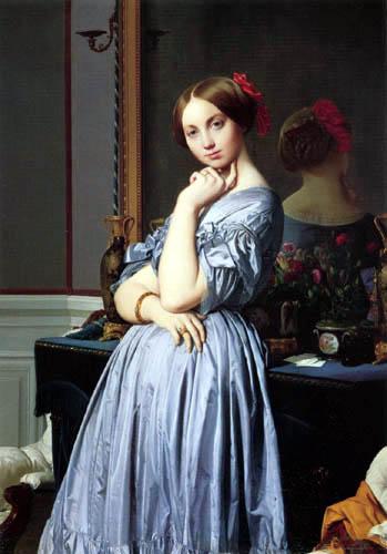 Jean-Auguste-Dominique Ingres - Comtesse d´Haussonville