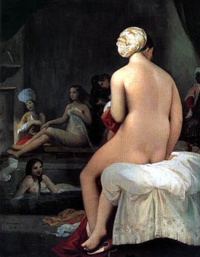 Jean-Auguste-Dominique Ingres - Die kleine Badende