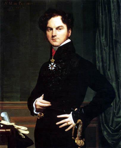 Jean-Auguste-Dominique Ingres - Amédéé David, Marquis de Pastoret