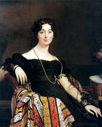 Jean-Auguste-Dominique Ingres - Madame Jaques-Louis Leblanc