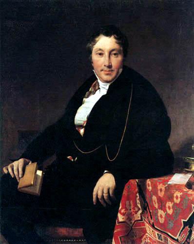 Jean-Auguste-Dominique Ingres - Jaques-Louis Leblanc