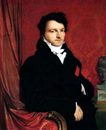 Jean-Auguste-Dominique Ingres - Jacques Marquet, Baron de Montbreton de Norvins