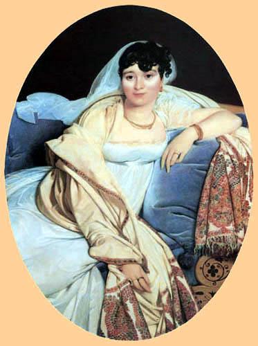 Jean-Auguste-Dominique Ingres - Madame Riviere
