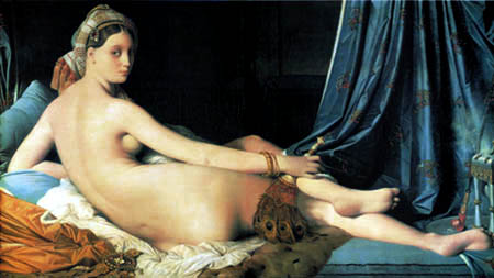 Jean-Auguste-Dominique Ingres - The large Odalisque