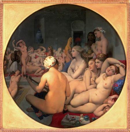 Jean-Auguste-Dominique Ingres - Das türkische Bad