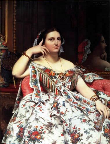 Jean-Auguste-Dominique Ingres - Porträt Ines Moitessier