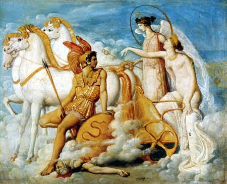 Jean-Auguste-Dominique Ingres - Diomedes und Venus