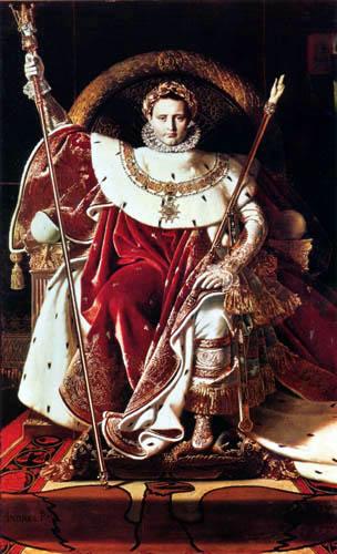 Jean-Auguste-Dominique Ingres - Napoleon als thronender Jupiter