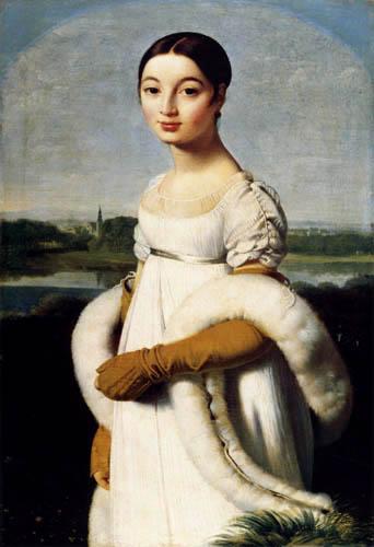 Jean-Auguste-Dominique Ingres - Mademoiselle Caroline Riviere