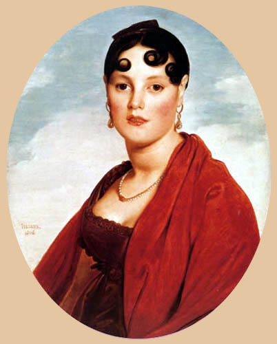 Jean-Auguste-Dominique Ingres - Madame Aymon