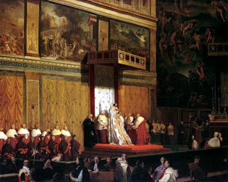 Jean-Auguste-Dominique Ingres - Die sixtinische Kapelle
