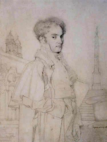 Jean-Auguste-Dominique Ingres - Graf Adolphe de Colombet de Landos