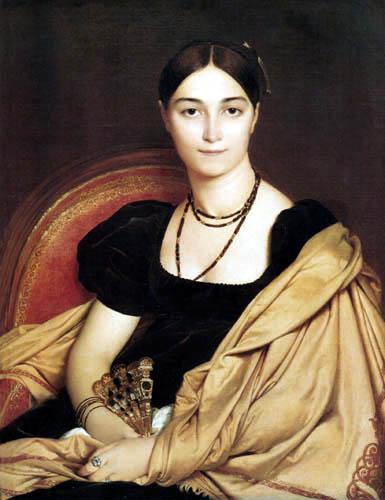 Jean-Auguste-Dominique Ingres - Antonia Duvaucey de Nittis