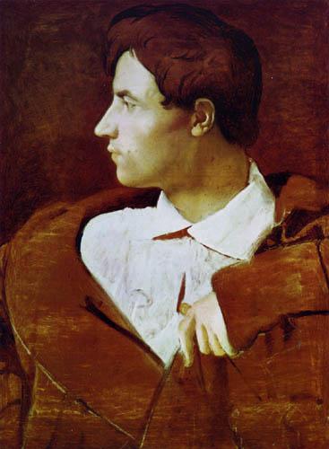 Jean-Auguste-Dominique Ingres - Der Architekt Jean-Baptiste Desdéban