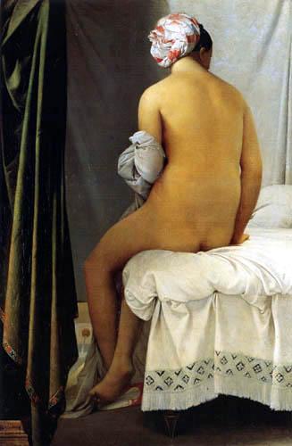 Jean-Auguste-Dominique Ingres - Die große Badende