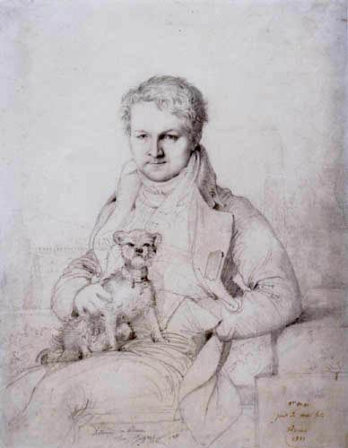 Jean-Auguste-Dominique Ingres - Baron Jacques Marquet de Montbreton