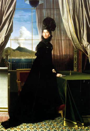 Jean-Auguste-Dominique Ingres - Caroline Murat, Königin von Neapel