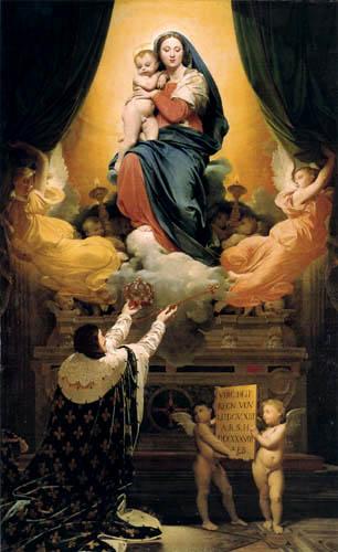 Jean-Auguste-Dominique Ingres - Das Gelübde Ludwig XIII.