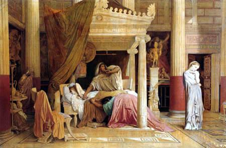 Jean-Auguste-Dominique Ingres - Antiochus  und Stratonike