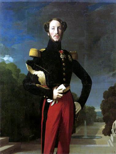 Jean-Auguste-Dominique Ingres - Herzog Ferdinand Philippe von Orleans